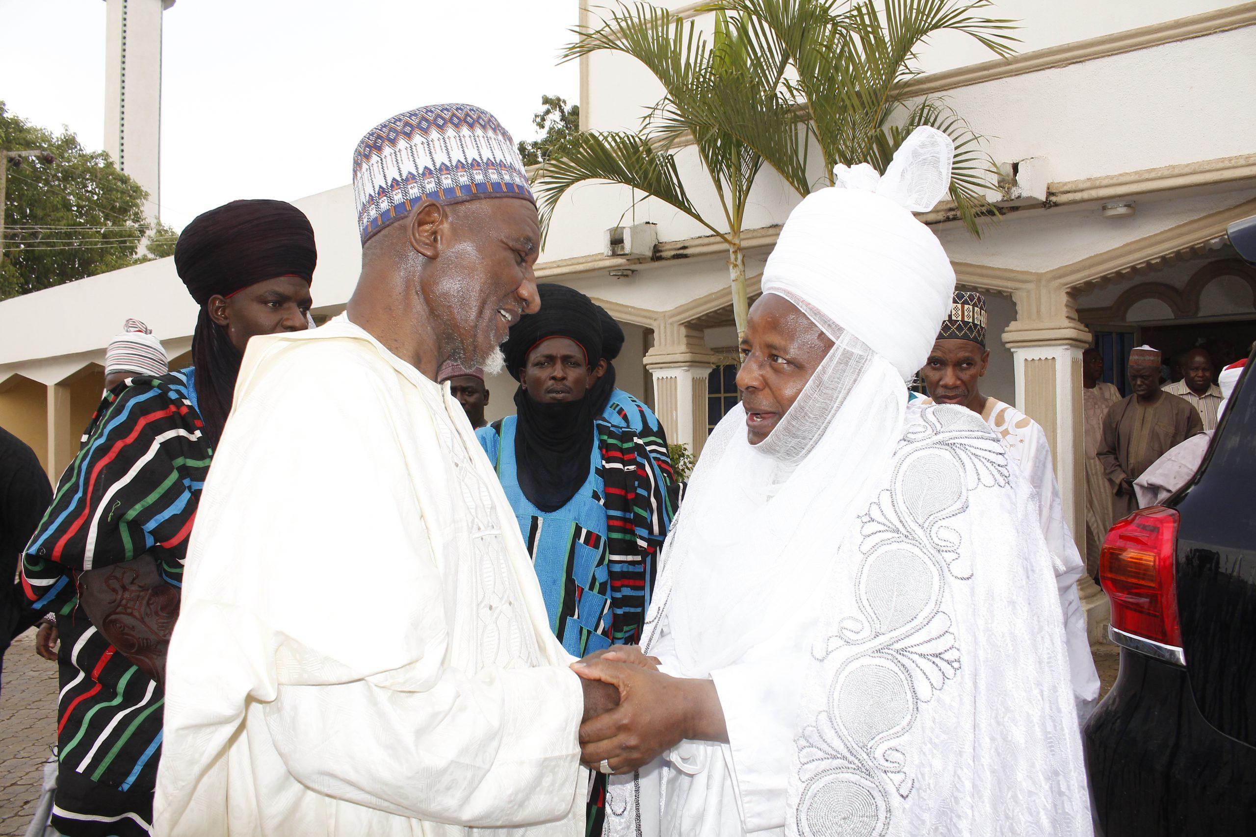 Chancellor of ADSU Mubi Paid Courtesy Visit to Emir of Mubi